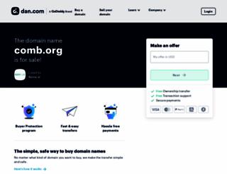 comb.org screenshot