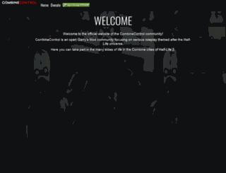 combinecontrol.com screenshot