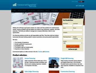 comcapfactoring.com screenshot