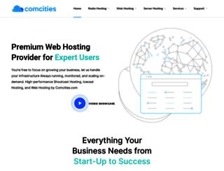 comcities.com screenshot