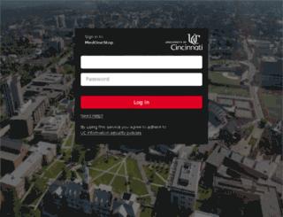 comdo-wcnlb.uc.edu screenshot