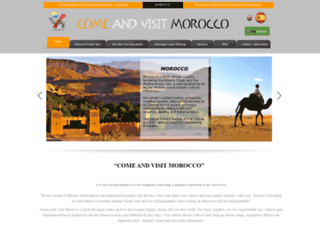 come-and-visit-morocco.com screenshot