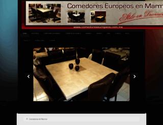 comedoreseuropeos.com.mx screenshot