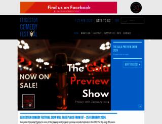 comedy-festival.co.uk screenshot