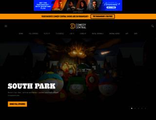 comedycentral.com screenshot