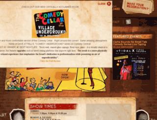comedyres.com screenshot