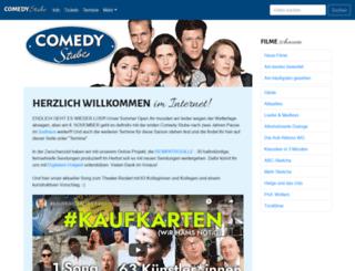 comedystube.de screenshot