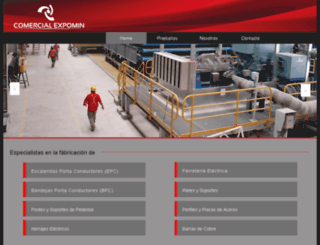 comercialexpomin.com screenshot