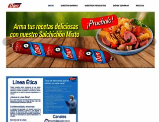 comestiblesdan.com screenshot
