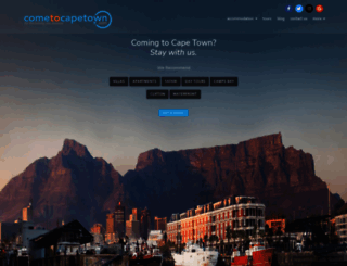 cometocapetown.com screenshot