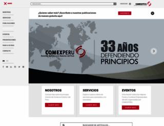 comexperu.org.pe screenshot