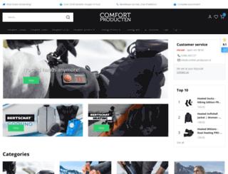 comfort-producten.nl screenshot