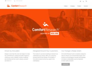 comfortresearch.com screenshot