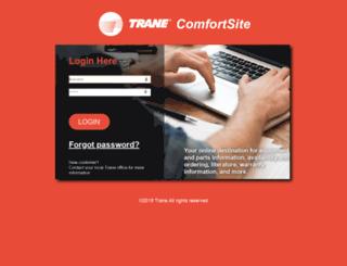 comfortsite.com screenshot
