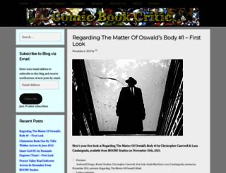 comicbookcritic.net screenshot