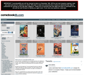 comicbookdb.com screenshot