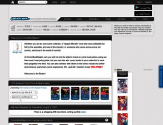 comicbookrealm.com screenshot