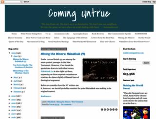 cominguntrue.com screenshot