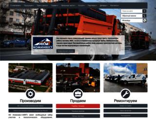 cominvest-akmt.ru screenshot