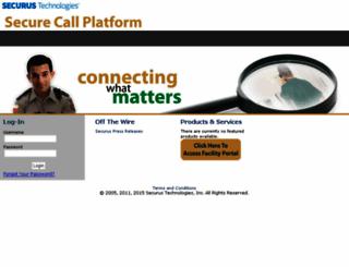 commandcenter.securustech.net screenshot