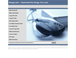 commando.all.songs.com screenshot