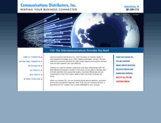 commdistinc.com screenshot