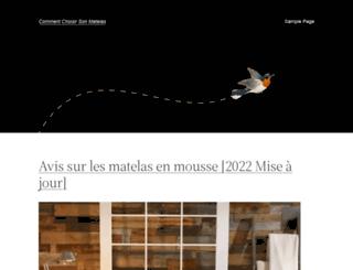 commentchoisirsonmatelas.fr screenshot