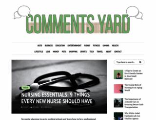 commentsyard.com screenshot