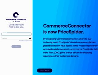 commerce-connector.com screenshot