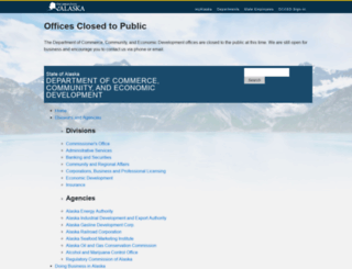 commerce.state.ak.us screenshot