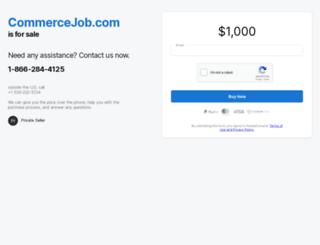 commercejob.com screenshot