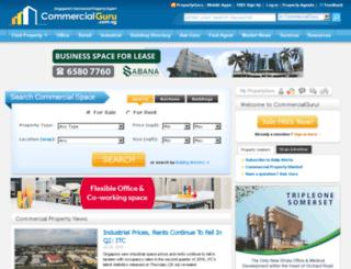 commercialguru.com.sg screenshot