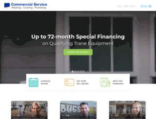 commercialservice.com screenshot