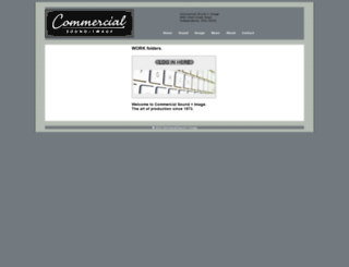 commercialsi.net screenshot