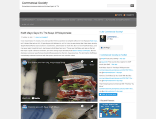commercialsociety.wordpress.com screenshot