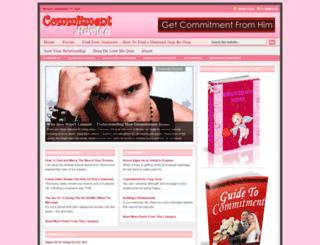 commitment-relationship.com screenshot