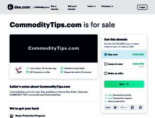 commoditytips.com screenshot
