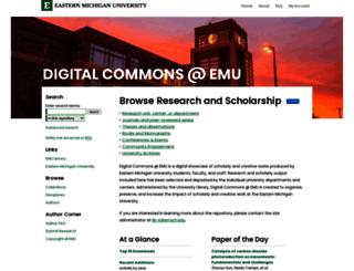 commons.emich.edu screenshot