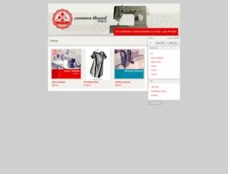 commonthreadstudio.bigcartel.com screenshot