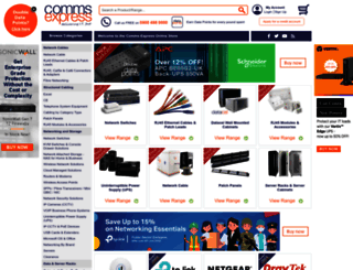 comms-express.com screenshot