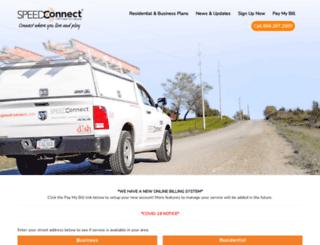 commspeed.net screenshot