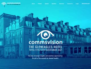 commsvision.com screenshot