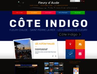 communefleury.fr screenshot