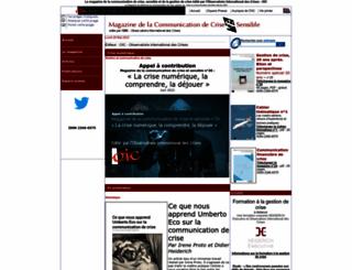 communication-sensible.com screenshot
