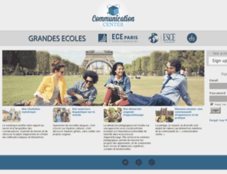 communicationcenter-grandesecoles.pariseiffel.fr screenshot