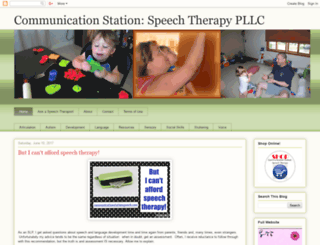 communicationstationspeechtx.blogspot.com screenshot