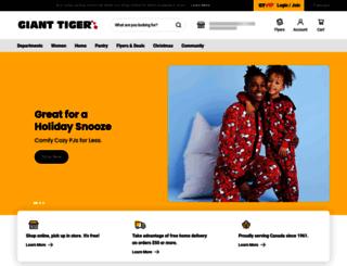 community.gianttiger.com screenshot
