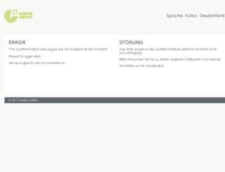 community.goethe.de screenshot