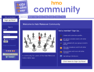 community.habimakeover.com screenshot