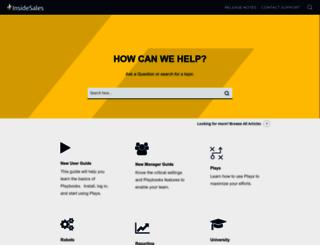 community.insidesales.com screenshot